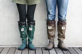 雨の日、どんな靴を履きますか?