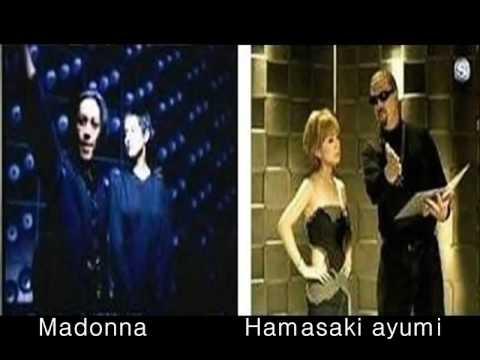 Madonna VS Copycat Hamasaki ayumi - YouTube