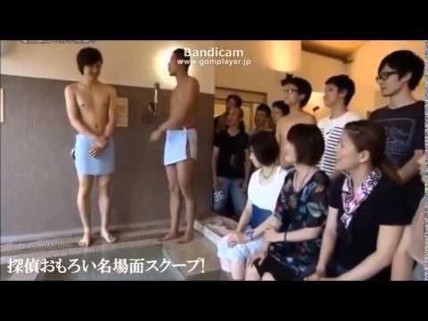 探偵ナイトスクープ 2014,8,29 超爆笑! 電気風呂で「オマタゆるゆる」M字開脚!! - YouTube