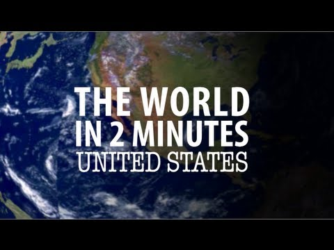 The World in 2 Minutes: United States - YouTube