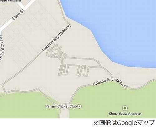 "Googleマップに""巨大猫""出現、Google側も存在認め「調査中」。 | Narinari.com"