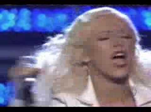 Christina Aguilera Grammy 2007 Its a Mans Mans Mans World - YouTube