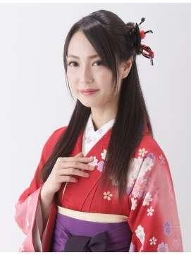振袖、袴に似合う髪型