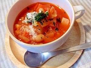 食べ応えのあるスープ