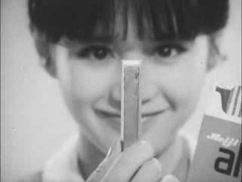 明治製菓 CM - アルファ チョコレート - アッとおどろく - 1965 - YouTube