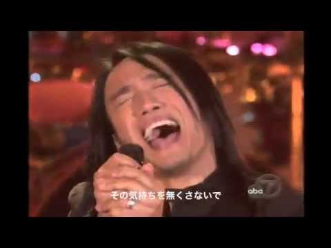 """Journey アーネル・ピネダ物語 at Oprah """"Don't Stop Believin'"""" - YouTube"""
