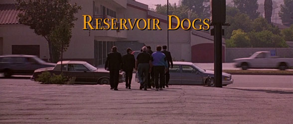Reservoir Dogs (1992) — Art of the Title