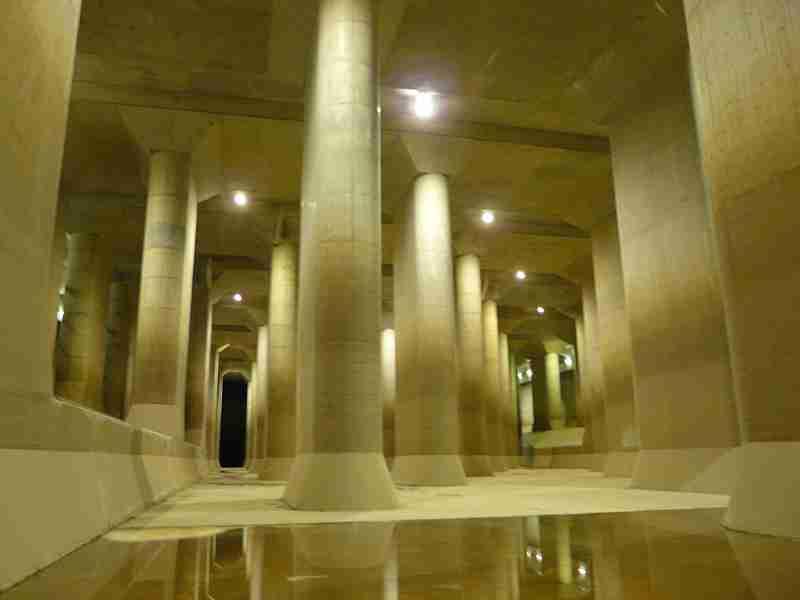 その規模はギネス級!水害からまちを守り、地下神殿の異名を持つ「首都圏外郭放水路」
