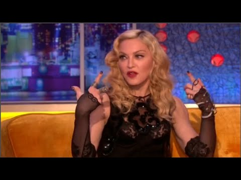 Madonna Exclusive Interview After Her Fall at BRIT AWARDS 2015 - YouTube