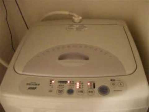 喘ぎ声が凄い洗濯機 - YouTube
