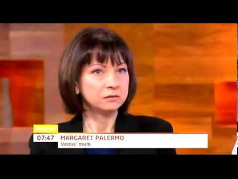 Venus Palermo Doll Make Up Interview Daybreak 04 April 2012 - YouTube