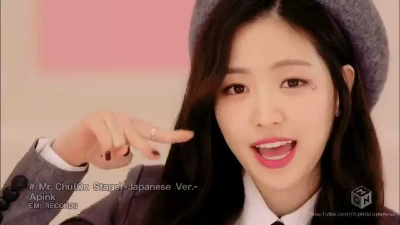 Apink - Mr. Chu (On Stage) Japanese Ver. [Full HD h264 M-ON!] - YouTube