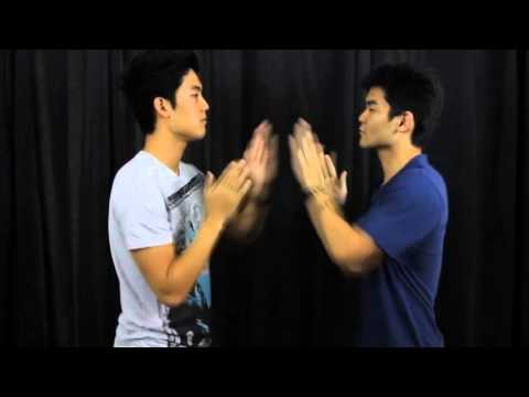 How-to be gangster handshake SLOW - YouTube