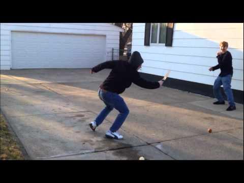 Fruit Ninja In Real Life - YouTube