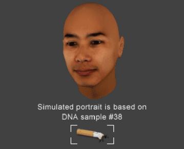 ゴミについたDNAから顔を復元、ポイ捨てした人をポスターにするキャンペーン