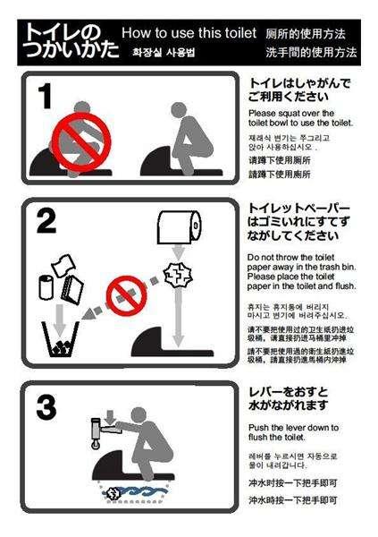 【関西の議論】排泄物〝誤爆〟、使用済みペーパーも流さず…京都市、訪日客トイレマナーに大迷惑 啓発ステッカー作戦の効果は?(1/4ページ) - 産経WEST