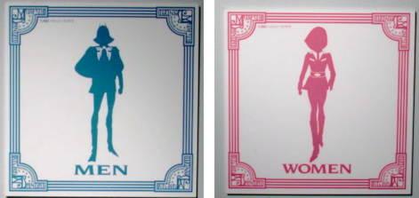 宝塚大劇場の男性用トイレのマークが男役っぽくて「どっちやねん!」と松本人志氏が発言し宝塚のトイレが話題に
