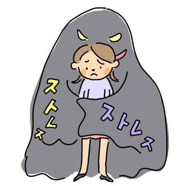 ストレスによる身体や体調の変化