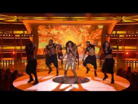 Jennifer Lopez - On The Floor (Live at American Idol 10) - YouTube