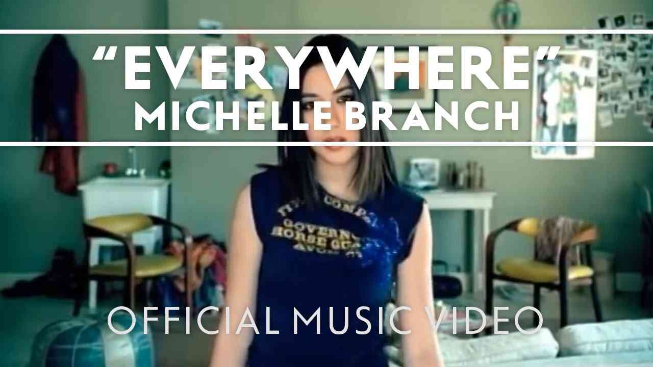 Michelle Branch - Everywhere [Official Music Video] - YouTube