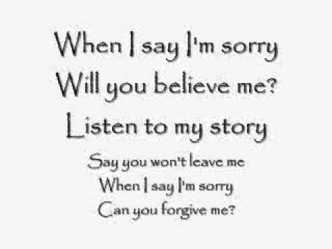 Sorry - Daughtry (Lyrics) - YouTube