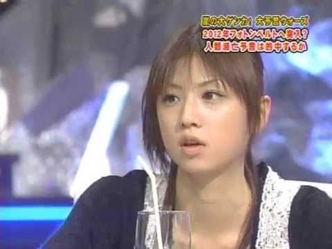小倉優子、タックルでビートたけしに怒られる! - YouTube