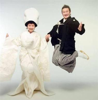 有名人の結婚写真