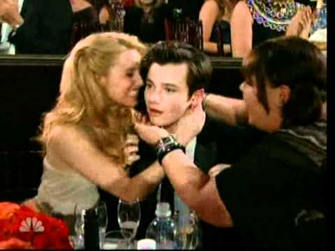 Golden Globes 2011: Chris Colfer (Glee) wins for best performance by an actor in a supporting role - YouTube