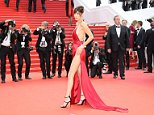 Underwear-free beauty Bella Hadid steals the show in Cannes   Daily Mail Online