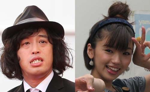 お笑いコンビ「エレキコミック」のやついいちろうとタレントの松嶋初音が結婚