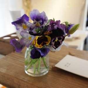 花束の画像を貼ろう