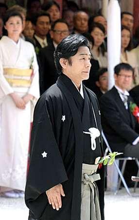 愛之助さん、「社頭の儀」に 紀香さんの姿も (京都新聞) - Yahoo!ニュース