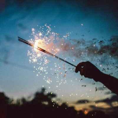 キレイな花火の画像