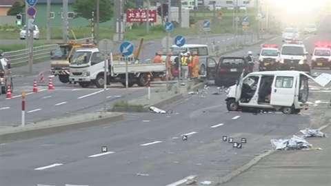 北海道 一家5人死傷事故、20代男をひき逃げ容疑で逮捕へ