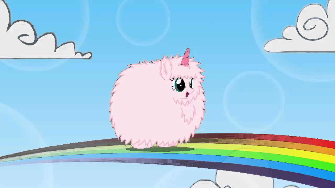 Pink Fluffy Unicorns Dancing On Rainbows - YouTube