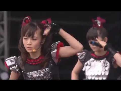 BABYMETAL MOA ちゃんの「ギミチョコ!!」Gimme chocolate!! (Live Compilation) - YouTube