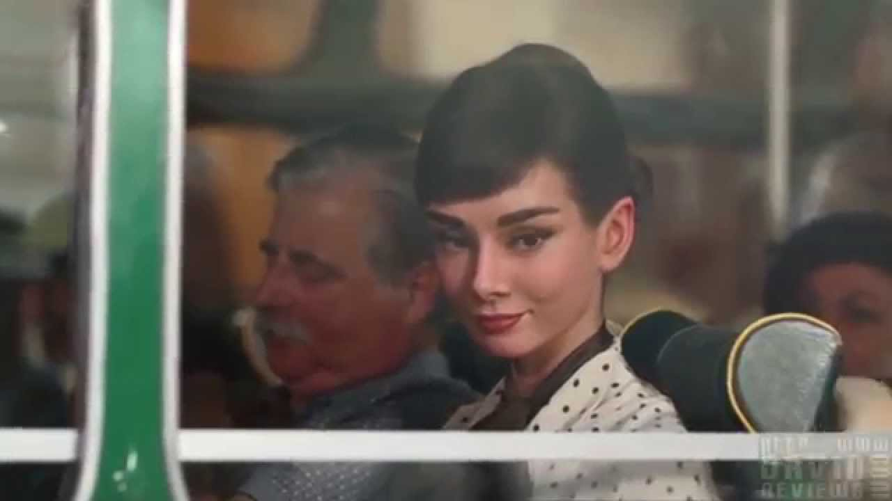Audrey Hepburn: Galaxy Chocolate Commercial - YouTube