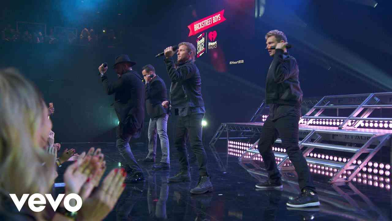 Backstreet Boys - The Call (Live on the Honda Stage at iHeartRadio Theater LA) - YouTube