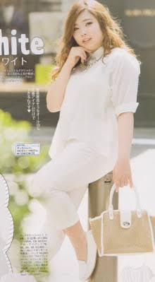 白い服が好きな方