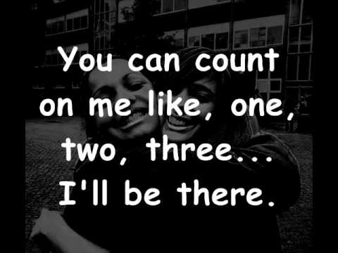 Bruno Mars - Count on me lyrics - YouTube
