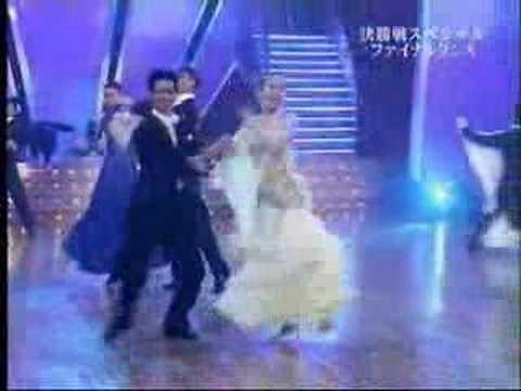 山寺宏一&大島寿子プロ ダンス決勝戦2/2 - YouTube