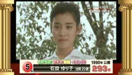石田ゆり子、約25年前の写真に絶賛