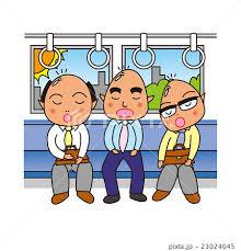 通勤電車での過ごし方(#^^#)