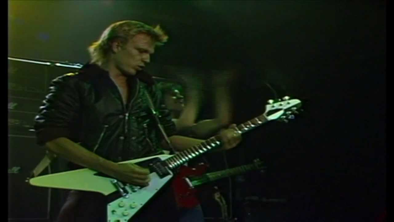 Michael Schenker Group / Into the Arena - マイケル・シェンカー・グループ / イントゥ・ジ・アリーナ(ロック・パラスト 1981) - YouTube