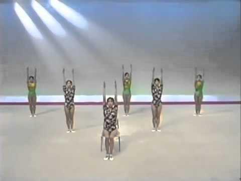 ラジオ体操 第一 第二 首の体操 - YouTube