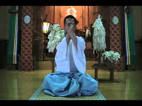お祓い・身体加持(浄霊・無病息災) - YouTube