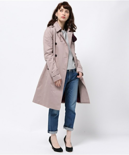 TOMMY HILFIGER(トミーヒルフィガー)の「RUTH HEAVY COTTON TRENCH(トレンチコート)」 - WEAR