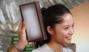 顔、ティッシュ箱より小さいですか?