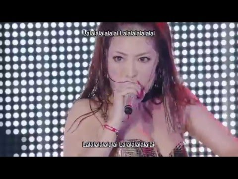 Ayumi Hamasaki 浜崎あゆみ - WARNING english /romaji/ kanji  Lyrics (2015 Tour) - YouTube