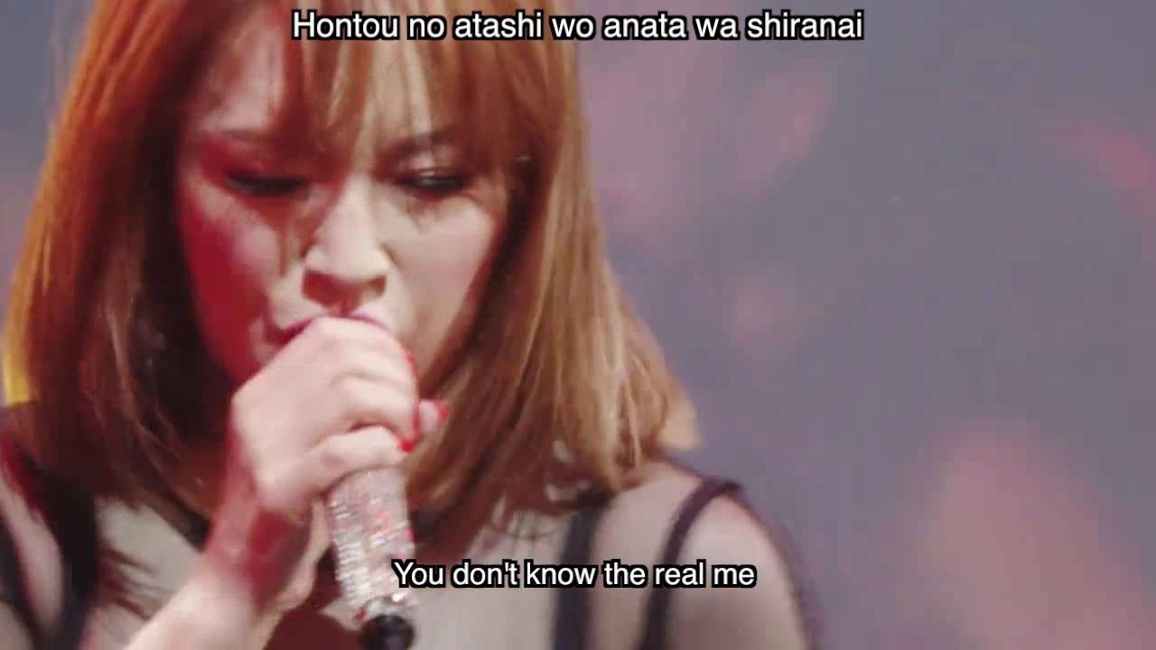 Ayumi Hamasaki 浜崎あゆみ - WARNING Roomaji English Lyrics M(a)de  in Japan (2016 Tour) - YouTube